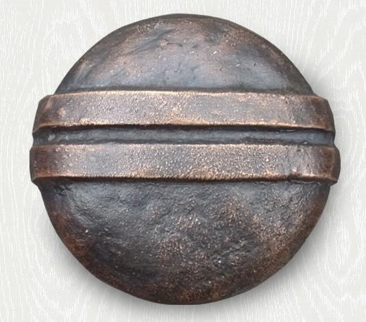deurknop brons landelijk country