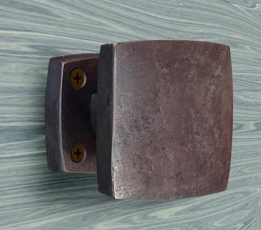 deurknop deurtrekker brons
